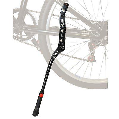 "Lumintrail Rear Mount Bike Kickstand Aluminum Alloy Adjustable Height 24"" To 28"""
