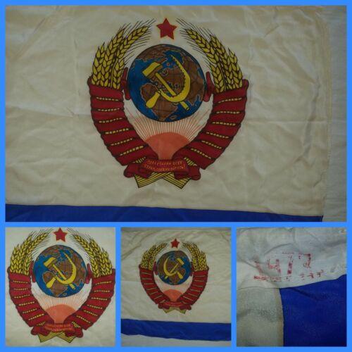 VNT Russian Soviet  Navy flag  Propaganda  USSR Coat of Arms