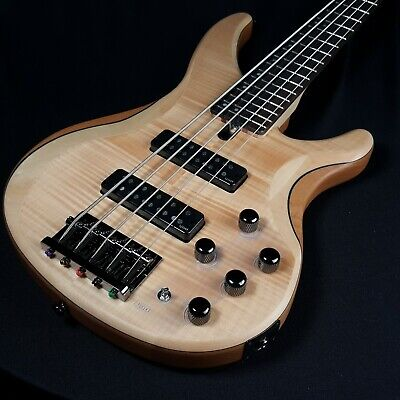 Yamaha TRBX605FM 5 String Bass Natural Finish