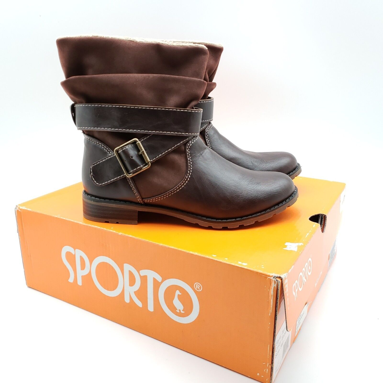 Sporto Tendra Women US 5 Brown Ankle Boot New/Display