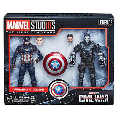 Captain America Crossbones (Marvel Legends Captain America and Crossbones 6 Inch Action FIgures Civil)