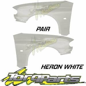 PAIR HERON WHITE GUARDS SUIT VT VX HOLDEN COMMODORE FENDER QUARTE Bayswater Knox Area Preview