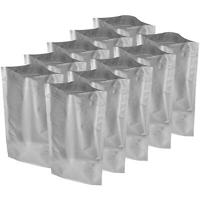 20×30″ Aluminum Moisture Static Shield Zip Long Term Food Storage Bags 10 Pack Food Storage Containers