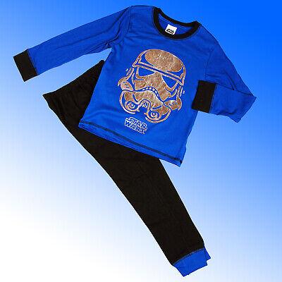 Boys Authentic Star Wars 8 The Last Jedi Storm Trooper Pyjamas Age 6-13 Years