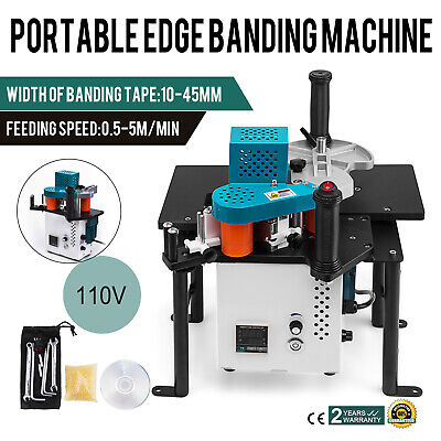 Woodworking Portable Edge Bander Banding Machine 110v