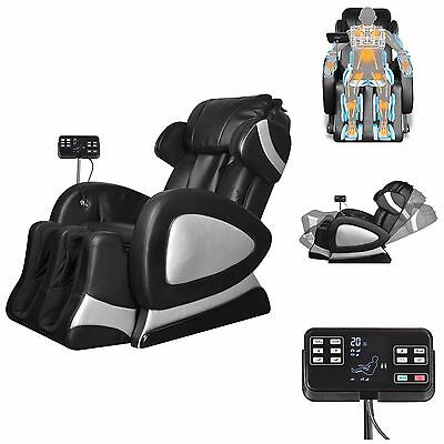 Full Body Shiatsu Massage Chair Back Pain Therapy Zero Gravity Stretched Relax