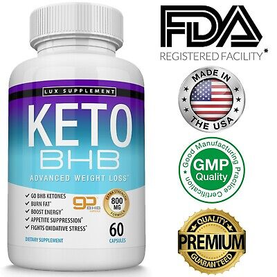 Keto Diet Pills BHB Best Ketogenic Carb Blocker Advanced Weight Loss