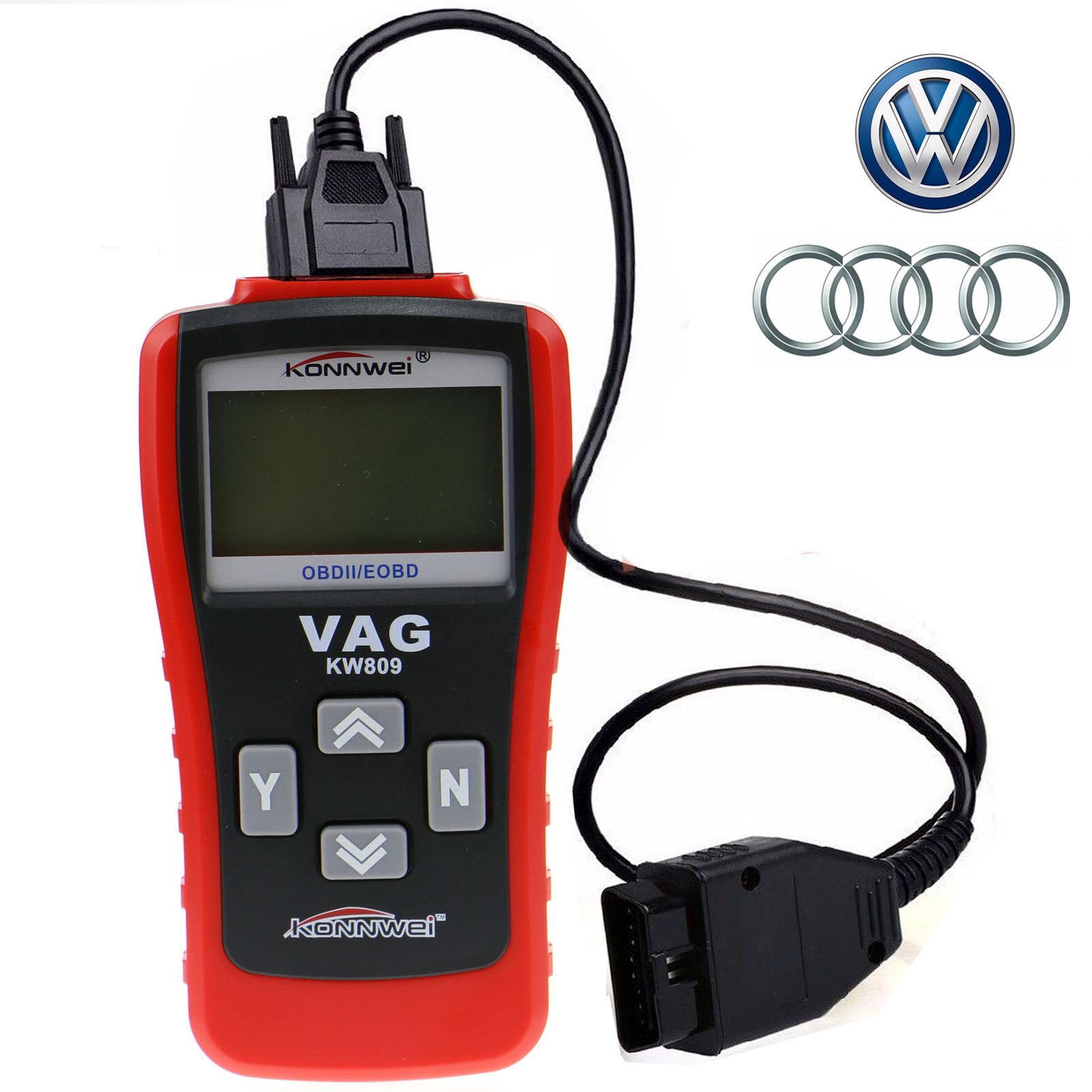 Eeeekit Car Code Reader Scanner Scan Tool Vag405 Kw809 Obd