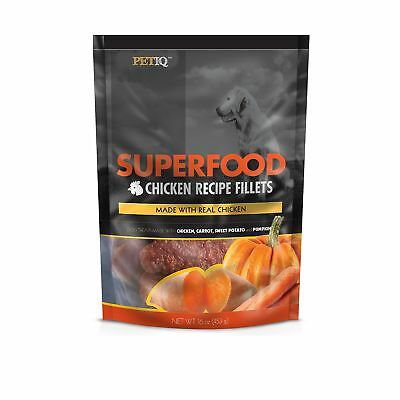 Petiq Superfood Chicken Fillet Recipe For Dogs With Carrot  Sweet Potato