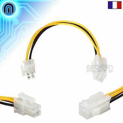 Cable d'Alimentation ATX 4pin vers EPS 4pin adaptateur pour carte mère PSU...