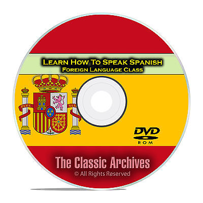 Learn How To Speak Spanish, Fast Foreign Language Training Course, DVD E16