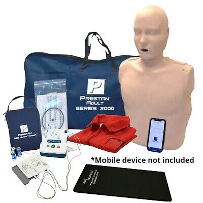 Series 2000 Adult Cpr Manikin With Advanced Feedback Aed Trainer Kit