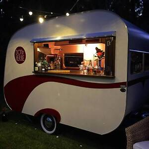 1950's Vintage Caravan Mobile Bar & Catering Business For Sale - Byron Bay Byron Area Preview