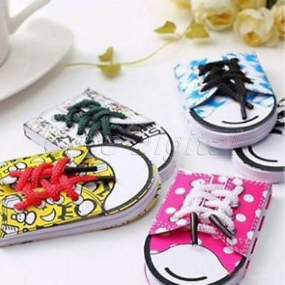 Cute Tie Shoes Style Stationery Memo Notepad Notepad Diary Agenda
