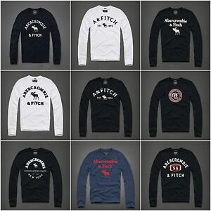 Mens-Abercrombie-amp-Fitch-A-amp-F-by-Hollister-Long-Sleeve-T-Shirt-size-S-M-L-XL-XXL