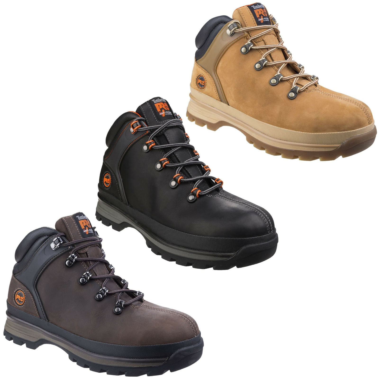 b9eb69604af Details about Timberland Pro Splitrock XT Safety Boots Mens Industrial  Steel Toe Cap Work Shoe