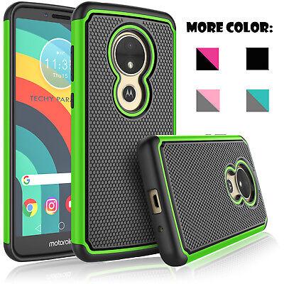 For Motorola Moto E5 Supra/Moto E5 Plus Case and Tempered Glass Screen Protector ()