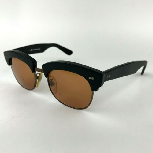 l.a. Eyeworks 1986 Vintage Retro Sunglasses Gigantor C-21 Black Made in Italy
