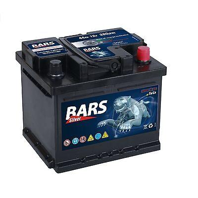 Autobatterie BARS 12V 44Ah Starterbatterie WARTUNGSFREI TOP ANGEBOT NEU 24 Volt 100 Amp