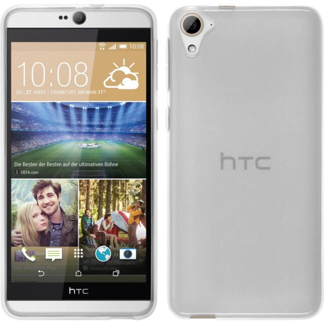 Silicone Case HTC Desire 826 - transparent white