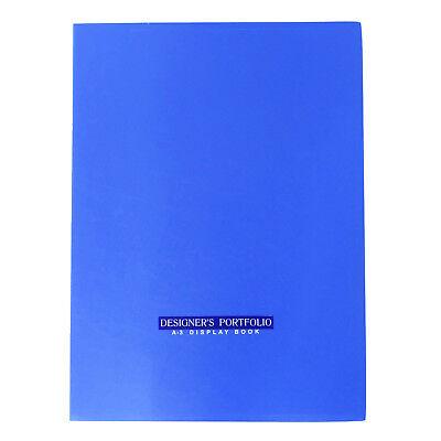 40 Pockets Display Book A3 Size Office Supplies Presentation Folder Portfolio