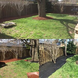 Mulch and sod installs FREE QUOTES