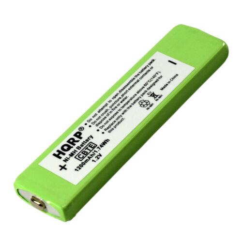 HQRP Battery for Panasonic RP-BP61 RP-BP61PY CD MD MP3