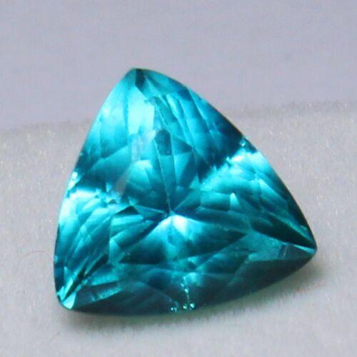Natural 5.50 Ct Unheated Neon Blue Cu-Bearing Paraiba Tourmaline Loose Gemstones