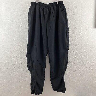 Vintage Vtg 90's Nike Sz XL White Tag Check Windbreaker Nylon Jogger Track Pants