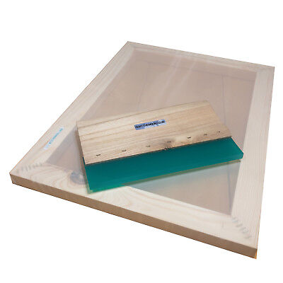 Value Pack A4 Silk Screen Printing Frame 32t 43t 55t 77t 90t 120t Squeegee
