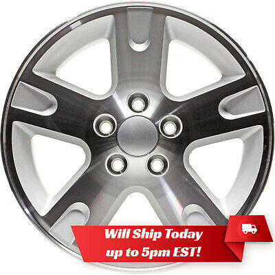 "New Set of 4 16"" Replacement Alloy Wheels and Centers for 2002-2011 Ford Ranger"