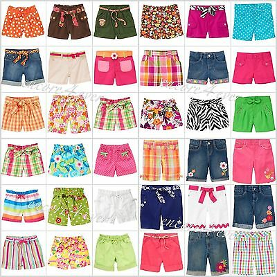 NWT Gymboree Kids Girl Summer/Spring Shorts Adjustable Waist