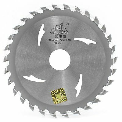 4 Inch 110mm X 2016mm Bore X 30t Tct Pro Circular Saw Blades For Wood Cutting
