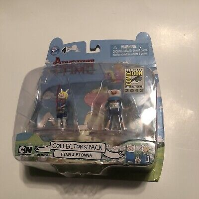 Adventure Time Finn And Fionna Collectors Pack 2012 SDCC Exclusive Box Damage
