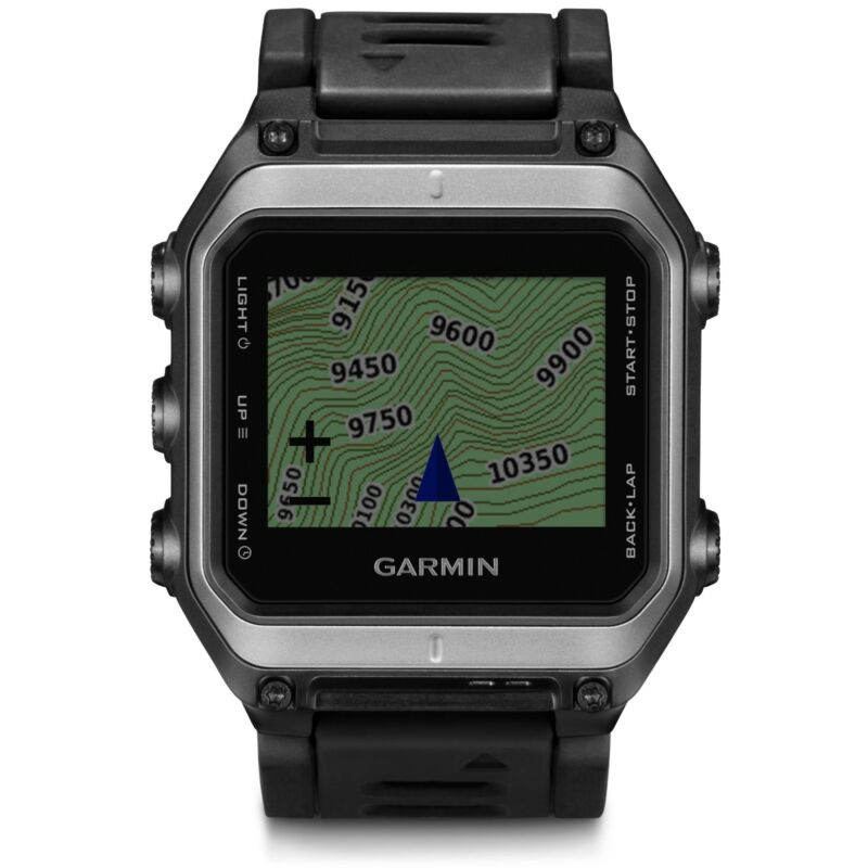 Garmin Epix GPS Mapping Watch Silver/Black 010-01247-01