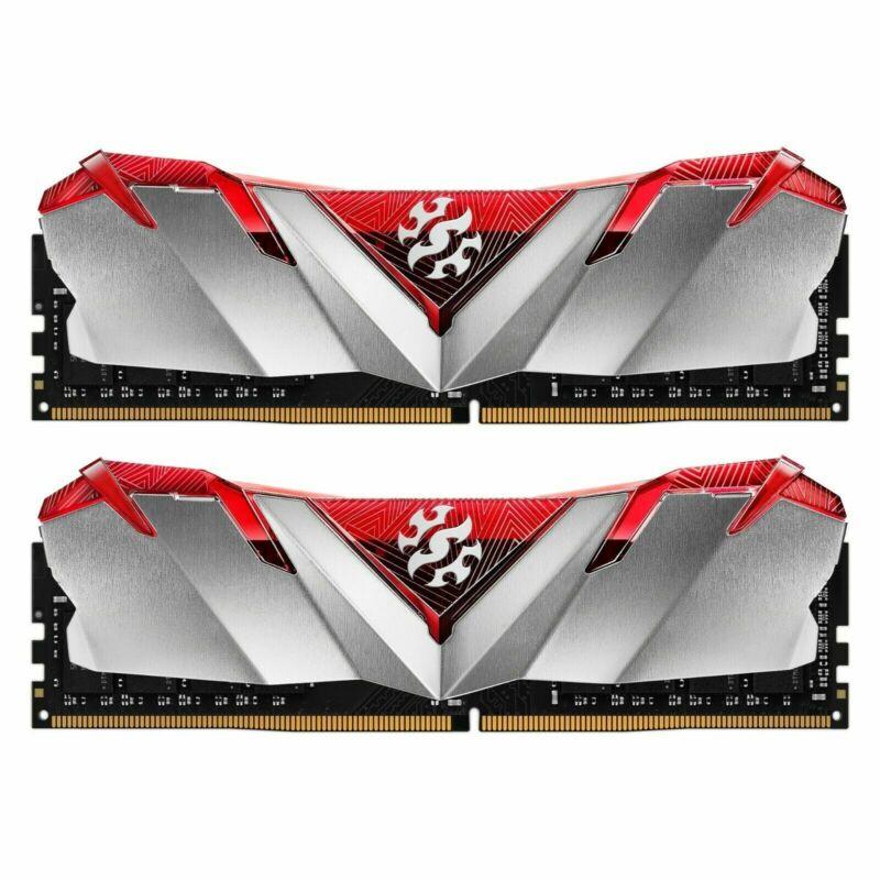 XPG GAMMIX D30 Gaming Memory: 16GB (2x8GB) DDR4 3200MHz CL16 Red