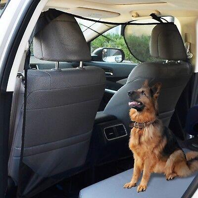 Pet Dog Car Net Barrier Car Mesh Obstacle Fence Fit Cars Vans SUV's & Trucks