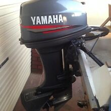 40hp Yamaha 2 stroke Fwd controls & fuel tank North Beach Stirling Area Preview