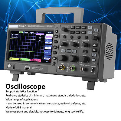 Ds02d15 7 Inch 2ch Digital Storage Oscilloscope 150mhz Bandwidth 1gs Sample Rate