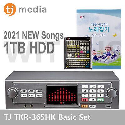 TJ Taijin Media TKR-365HK Home Karaoke Machine System + Keyboard Remote Control