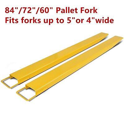 607284 Steel Pallet Fork Extensions For Forklifts Lift Truck Slide On Clamp