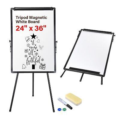 Magnetic Whiteboard 36 X 24 Dry Erase Market School Kids Drawing White Board
