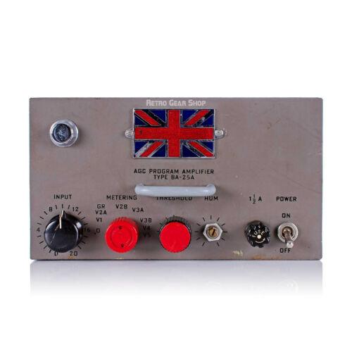 RCA BA-25A AGC Program Amplifier Rare Vintage Analog Tube Compressor