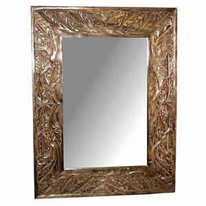 WALL MIRROR HAND CARVED 25