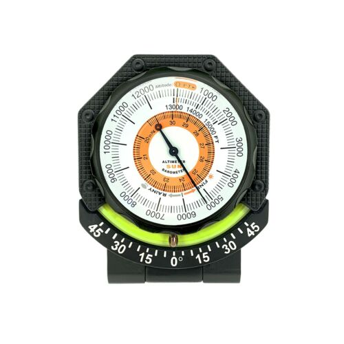 Sun Company AltiTilt - Dashboard Altimeter Inclinometer for Off-Road Vehicles