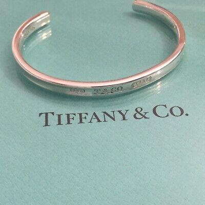 New. Tiffany & Co. T & Co. 1837 Cuff Bracelet Bangle. Authentic