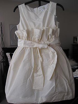 Silk Communion Dress (CREWCUTS COLLECTION JCREW CECILEE SILK TAFFETA DRESS FLOWER GIRL FIRST)