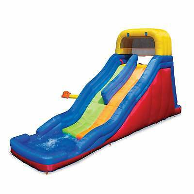 Banzai Double Drop Raceway Inflatable 2 Lane Racing Water Sl