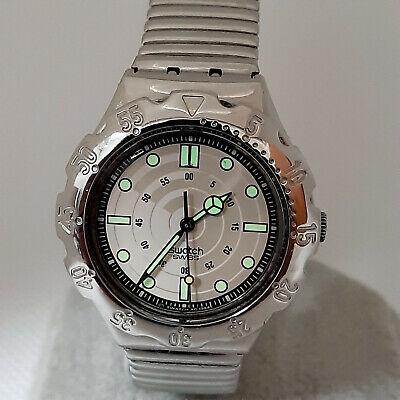 "Swatch Irony Watch SCUBA YDS102 "" Beach Rider "" 1994 - Vintage"
