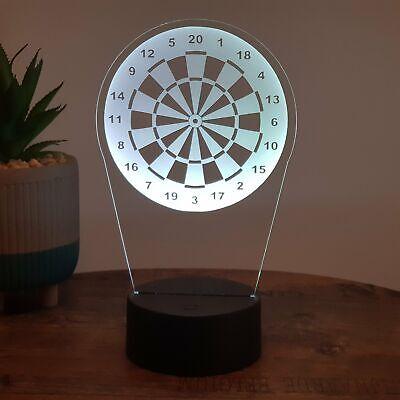 LED Lampe Dartscheibe